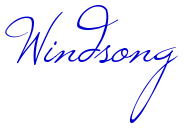 Windsong шрифт